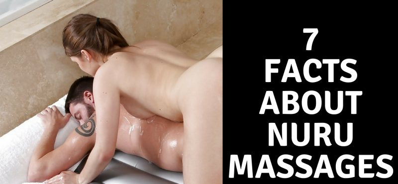 woman giving man a nuru massage london