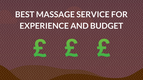best massage service for experience and budget asian hotel massage london