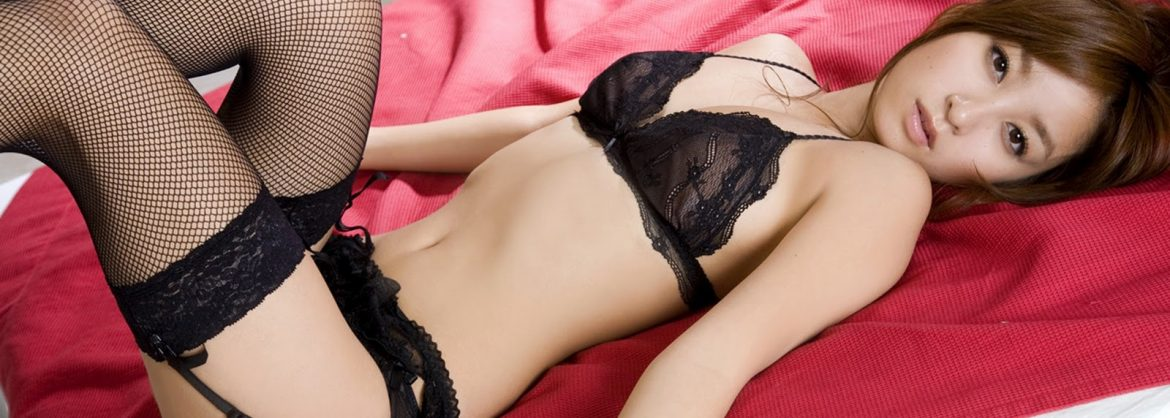 beautiful asian masseuse lay on bed for ful body massage in earls court london