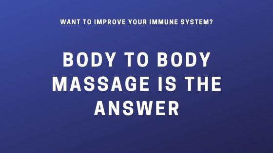 B2B massage london for your immune system